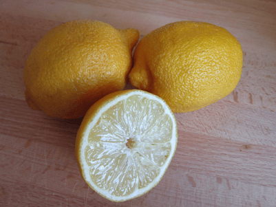 Lemons enhance the effects of Green Tea